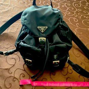 Authentic vintage nylon Prada backpack
